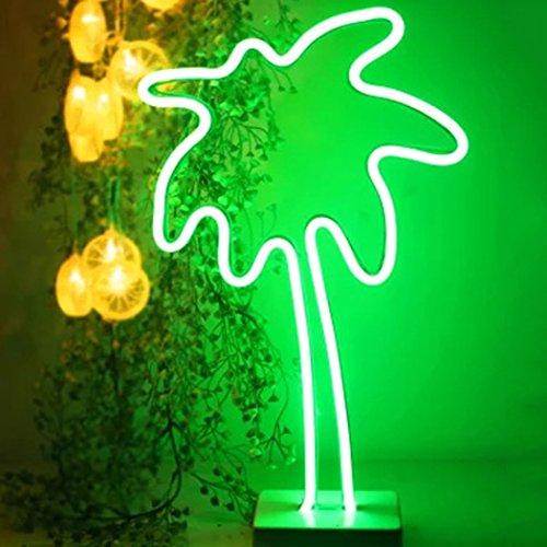 Lumière Au Néon, outgeek Home Decor Lampe LED Décoration Murale Nuit Lumière De Mariage Au Néon