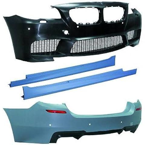 Sport Parachoques Delantera y Trasera, incluye Potenciador de lado en aspecto M5para BMW 5er F10solo Sedán (Modelos a partir de 03/2010de
