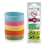 FunRun 5 Stück Anti Moskito Mückenschutz Armband