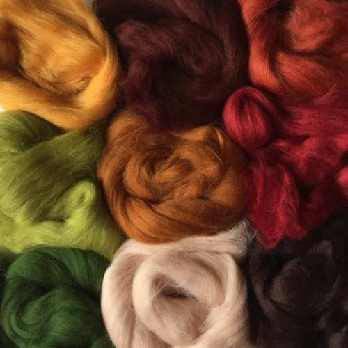 Merino Wool Tops - EARTH TONES - by Molten Designs