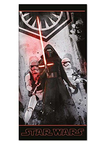 Star Wars Episode 7 - The Force Awakens - Kylo Ren & Stormtroopers - Empire Logo Strandlaken multicolor (Stormtrooper Force Awakens Kostüm)