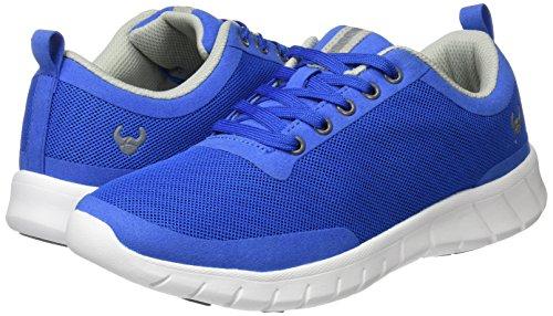 Suecos® Unisex-Erwachsene Alma Turnschuhe, Black (Schwarz), 50 EU Blau (Blau)