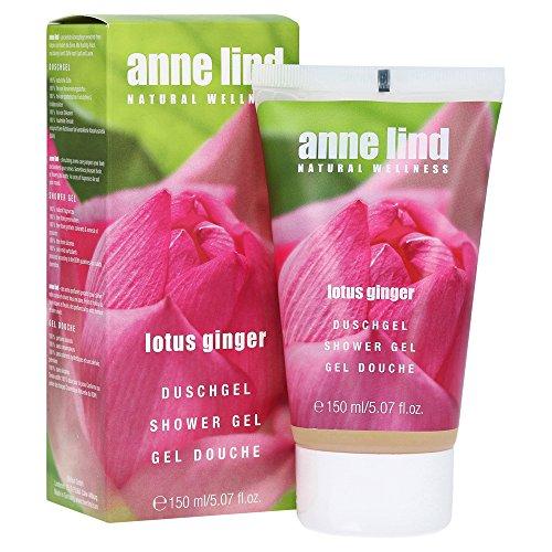 Annemarie Börlind Anne Lind Women, Lotus Ginger Shower Gel, 1er Pack (1 x 150 ml)