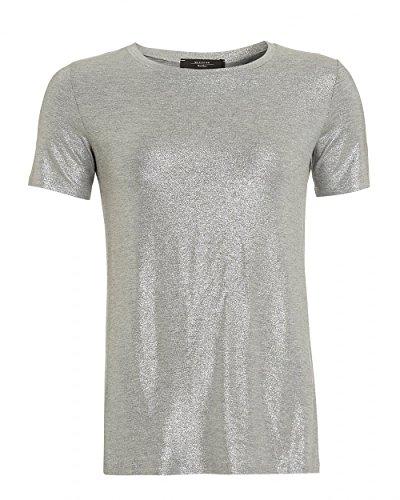 max-mara-weekend-womens-multi-a-t-shirt-silver-metallic-tee-m-silver