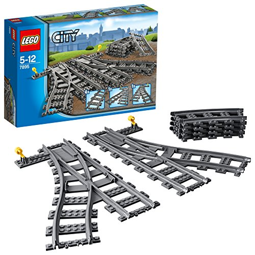 LEGO City - Les aiguillages - 7895  - Jeu de Construction