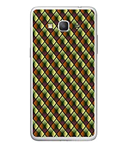 FUSON Designer Back Case Cover for Samsung Galaxy On7 Pro :: Samsung Galaxy On 7 Pro (2015) (Seamless Pattern Blue Design Drawing )