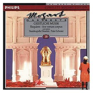 Mozart: Sacred Music - Requiem & Ave Verum Corpus.