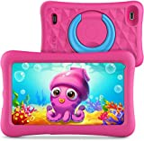 VANKYO MatrixPad Z1 Tablet per Bambini 7' 32GB ROM, Android 8.1 Oreo IPS HD Display WiFi Bluetooth Kidoz Preinstallato con Kid-Proof Custodia, Rosa