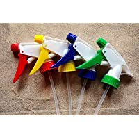 Pindia Plastic Trigger Spray Bottle Head(Multicolour) - Set of 3
