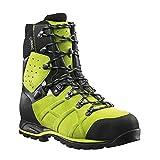 230305a9cc5 Haix Protector Ultra Lime Green Forst Sicherheitsschuh garantiert mehr  Schnittschutz. 44
