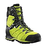 Haix Protector Ultra Lime Green Forst Sicherheitsschuh garantiert mehr Schnittschutz. 42
