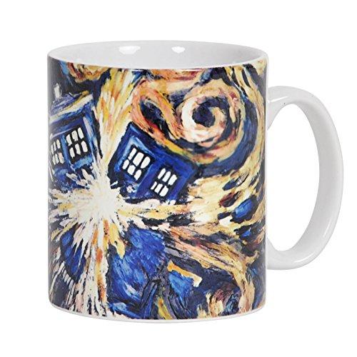 Doctor Who - Exploding Tardis - Keramic Kaffeebecher / Tasse (Schraubenschlüssel Tasse)