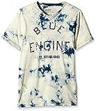Garcia Kids Jungen T-Shirt M63421, Gebatikt, Gr. 152 (Herstellergröße: 152/158), Blau (Indigo 1050)