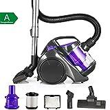 Balter Vento A2–Aspiradora ciclónica sin bolsa Aspiradora HEPA–Aspirador ciclónico filtro Incluye Accesorios Color Púrpura