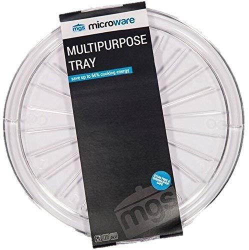 Microware Mikrowelle Teller Mehrzweck-Mikrowelle Speck Frischeres Pizzateller (Speck-teller Für Mikrowelle)