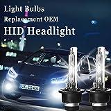 D2S D2C HID Xenon ampoules de phare 8000K Bleu Blanc 535008512266040phares 1paire