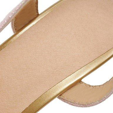 LFNLYX Donna Sandali Primavera Estate Autunno altri PU Ufficio Outdoor & Carriera Casual Stiletto Heel altri viola Argento Oro Altri Gold