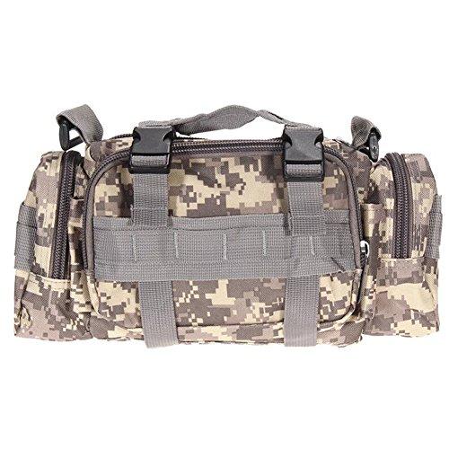 valink 600D Wasserdichtes Oxford Gewebe Klettern Taschen Outdoor Military Tactical Waist Pack Molle Camping Wandern Tasche Taschen Reise Rucksack–
