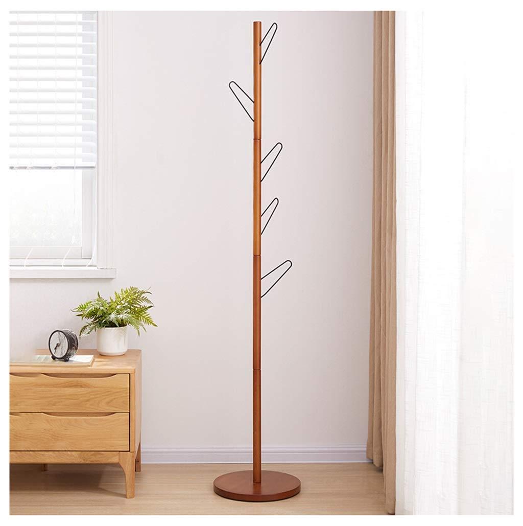 FU_BIN Stand Appendiabiti Piedi Solidi di visualizzazione a Forma di Albero  di bambù del Basamento del Supporto del Cappotto per i Vestiti Sciarpe e ...