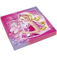 Amscan International Papierservietten 33cm Schuhe (Pink)