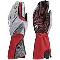 Sparco 00255209RS Guantes, Rojo, 09