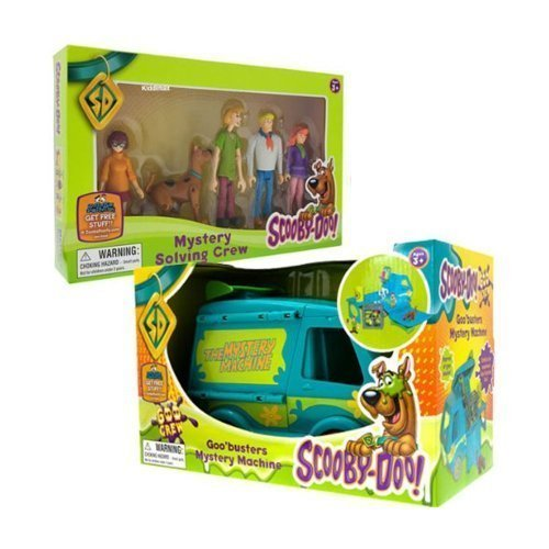 Scooby Doo - Goo Mystery Machine & Rätsel Lösen Crew Set