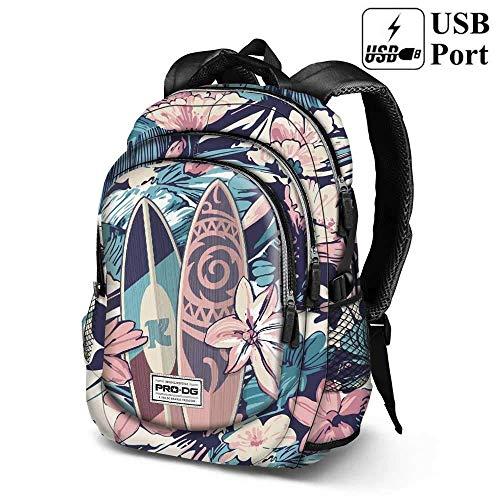 PRODG PRODG Running Backpack Samoa Schulrucksack, 44 cm, Mehrfarbig (Multicolored) Preisvergleich