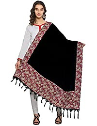 Kanchnar Turquoise, Blue And Beige Colored Bhagalpuri Printed Dupatta