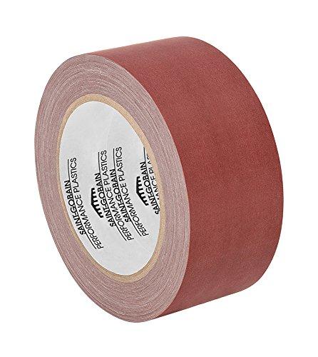tapecase 11–18-ru Rose Rulon Film Klebeband,-100bis 500°C F Temperaturbereich, 18YD Länge, 27,9cm Breite (18 16 Bis)