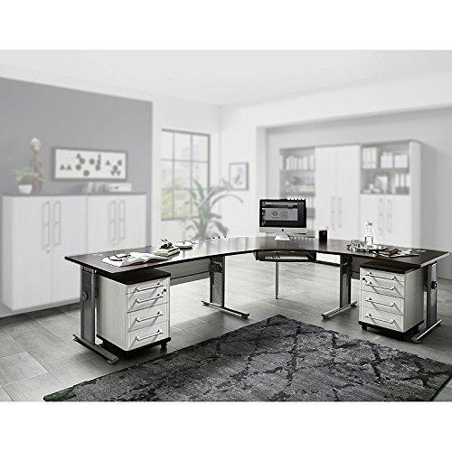 Büromöbel Eck-Schreibtisch Set ●...