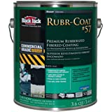 Black Jack Rubr-Coat No. 57 Premium Rubberized Coating Exterior Black 3.6 Qt by Black Jack