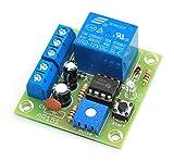 ArliKits AR151 Regelbarer Timer mit Relaisausgang Bausatz Relaisschalter LED-Anzeige Einschaltverzögerung