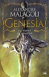 L'Heure du dragon: Genesia - Les Chroniques Pourpres, T3