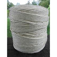 Sisalseil 2 Stück 6 Kg Spulen Stärke 220/4 ohne Hülse Sisal-Seil