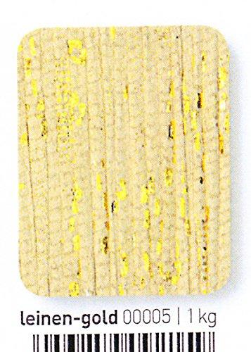 NEU Special Edition 100g Schachenmayr Esperanza Fashion - Farbe 05 leinen/gold - Baumwollbändchengarn mit stylischen Glitzerspots für gute Laune - Ein Knäuel ergibt einen Loop!