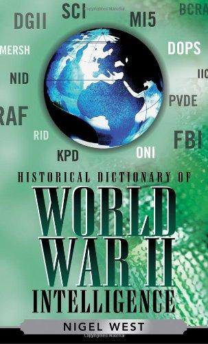 Historical Dictionary of World War II Intelligence (Historical Dictionaries of Intelligence and Counterintelligence)
