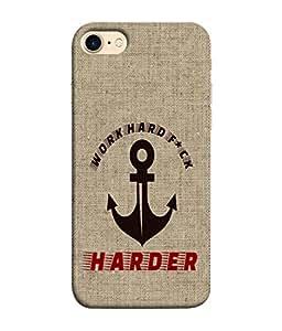 PrintVisa Designer Back Case Cover for Apple iPhone 7 (Love Lovely Attitude Men Man Manly)
