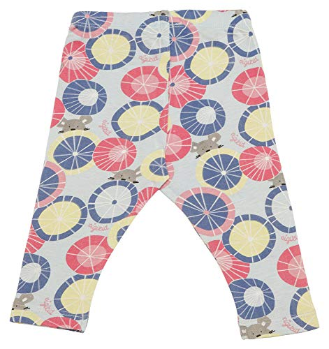 Sigikid Mädchen Leggin, Baby Leggings, Mehrfarbig (Starlight Blue 575), (Herstellergröße: 86) (Für Mädchen Leggins)