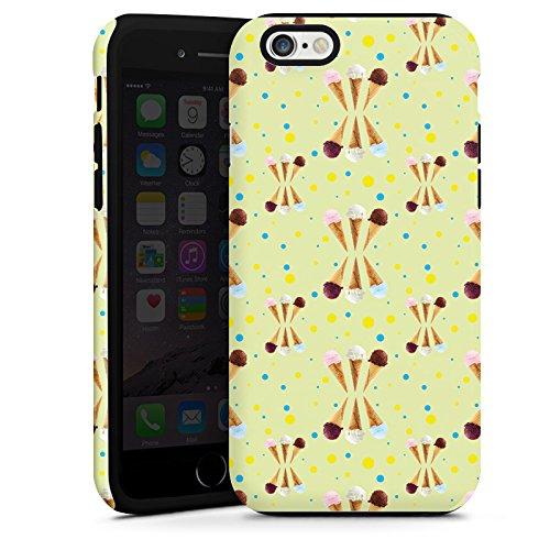 Apple iPhone 6 Housse Étui Silicone Coque Protection Glace Glace Été Cas Tough terne