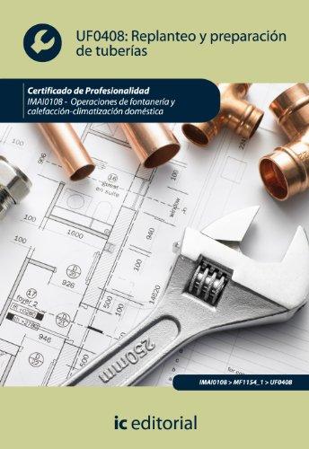 Replanteo y preparación de tuberías. imai0108 - operaciones de fontanería y calefacción-climatización...