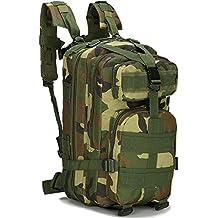 Candora ™ 30L outdoor trekking zaino campeggio borsa militare tattico zaino da trekking Camo
