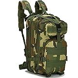 Candora 30L outdoor trekking zaino campeggio borsa militare tattico zaino  da trekking Camo 75c9418d73b0