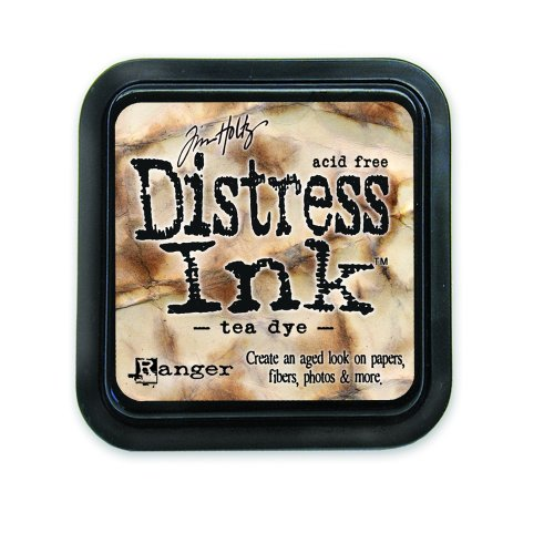Ranger Tim Holtz Distress Pad, Tea Dye