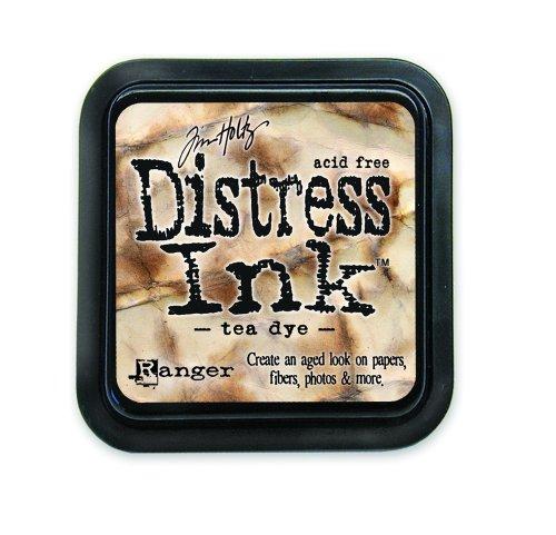 Ranger 18780604 Tim Holtz Distress Ink Pad, Tea Dye, 7.5 x 7.5 x 4 cm (Vintage Photo Distress Ink)