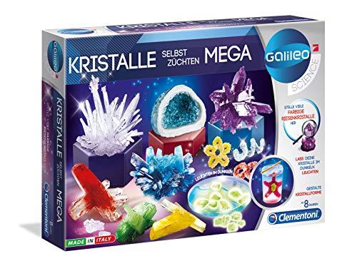 Clementoni 59130 Kristalle selbst züchten Mega, Mehrfarben