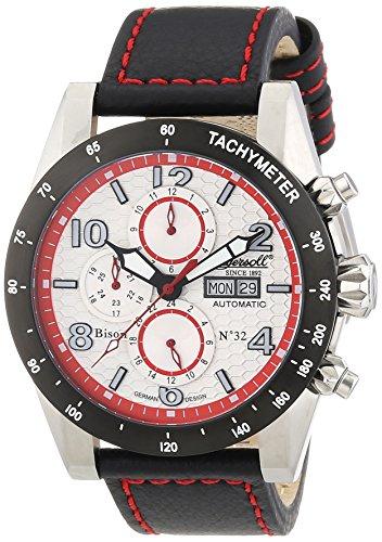 Ingersoll Herren-Armbanduhr XL Chronograph Automatik Leder IN1407WHRD