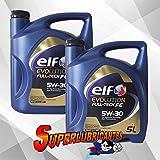 Elf Evolution Full Tech FE Vehicle Oils