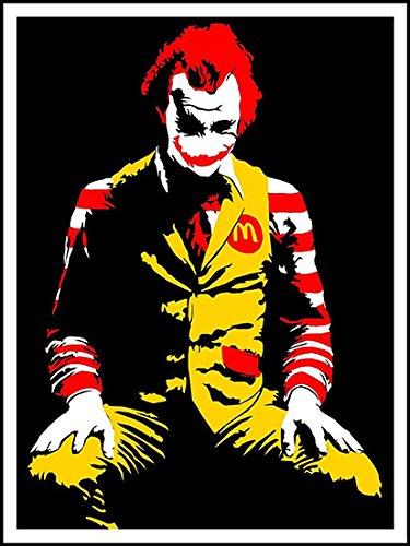imagenation-banksy-mcdonalds-joker-60cm-x-80cm-print-on-repositional-self-adhesive-wallpaper-poster
