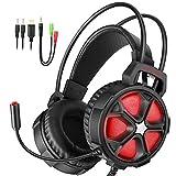 EasySMX Gaming Headset, Stereo Gaming Kopfhörer für PC/MAC Xbox One / PS4 / Smartphone/Nintendo Schalter