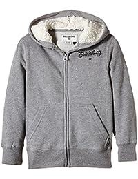Billabong Oxford Sweat-shirt à capuche zippé Garçon Light Grey